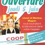 Coop ouverture