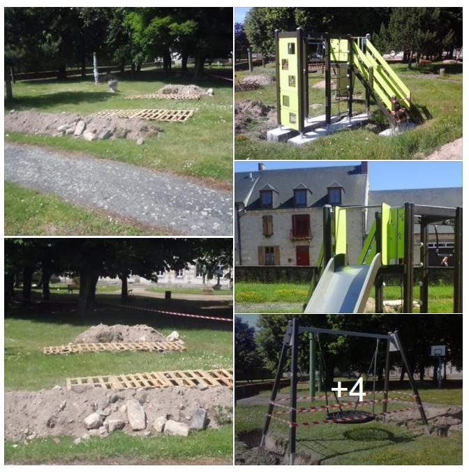 Implantation parc de jeux EHPAD