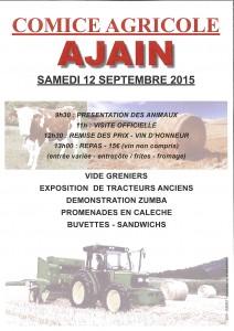 Comice agricole 12 sep 2015